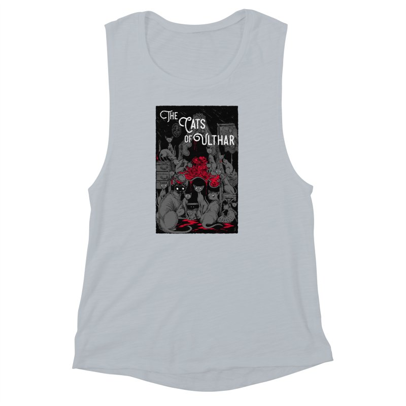 The Cats of Ulthar Women's Muscle Tank by Nick the Hat