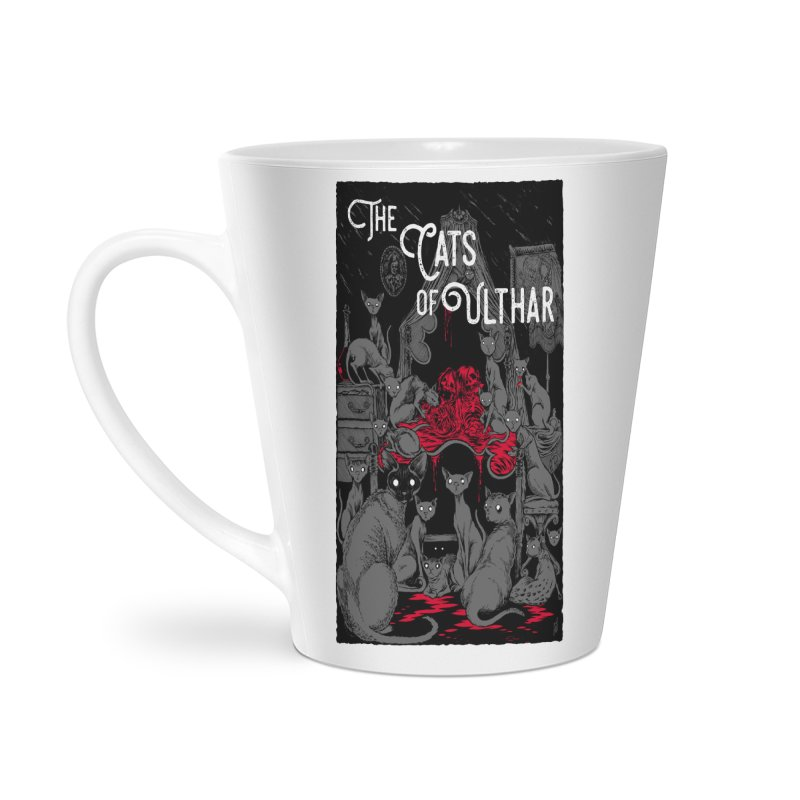 The Cats of Ulthar Accessories Latte Mug by Nick the Hat