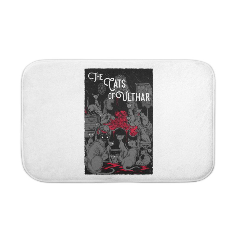 The Cats of Ulthar Home Bath Mat by Nick the Hat