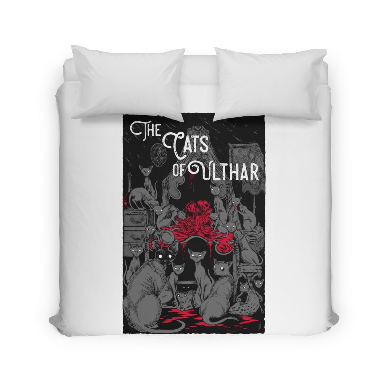 The Cats of Ulthar Home Duvet by Nick the Hat