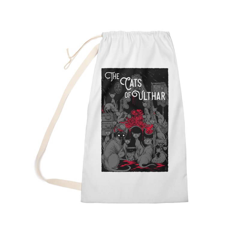 The Cats of Ulthar Accessories Laundry Bag Bag by Nick the Hat