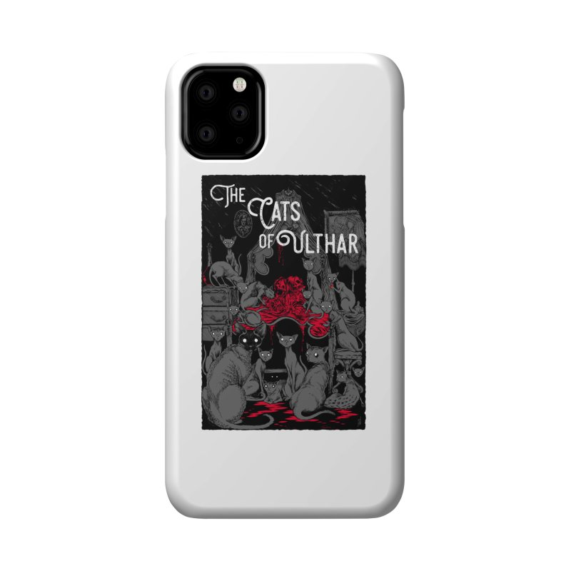 The Cats of Ulthar Accessories Phone Case by Nick the Hat