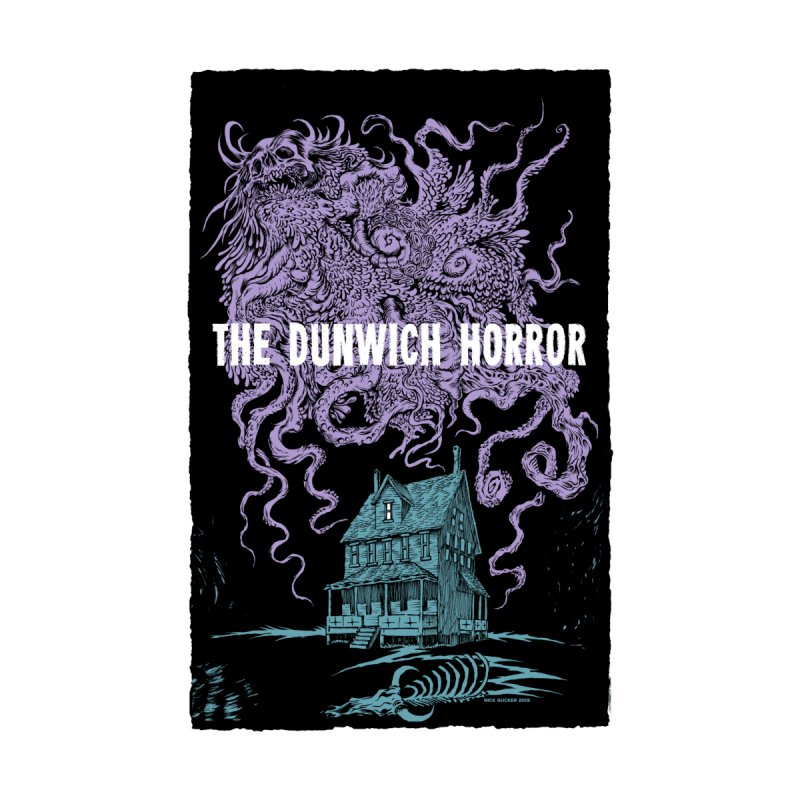 The Dunwich Horror Women's Longsleeve Scoopneck  by Nick the Hat