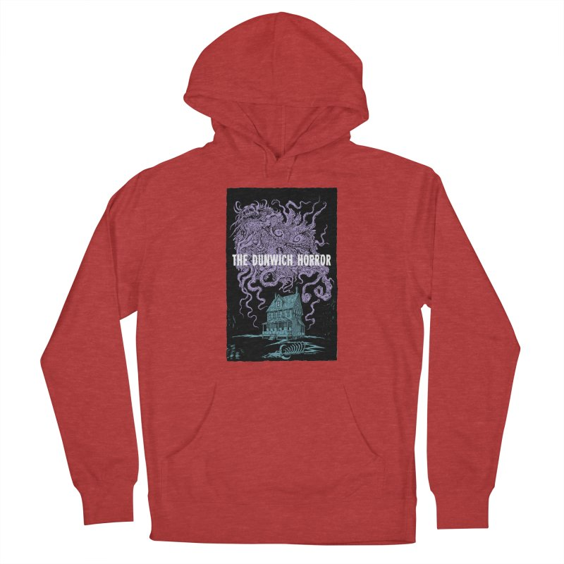 The Dunwich Horror Women's French Terry Pullover Hoody by Nick the Hat