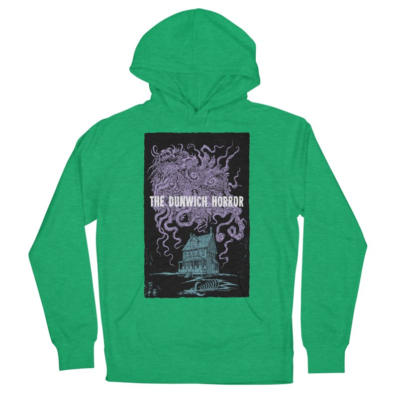 The Dunwich Horror Men's French Terry Pullover Hoody by Nick the Hat