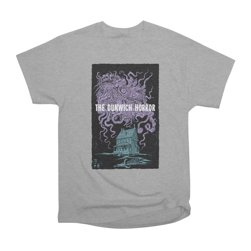 The Dunwich Horror Men's Heavyweight T-Shirt by Nick the Hat