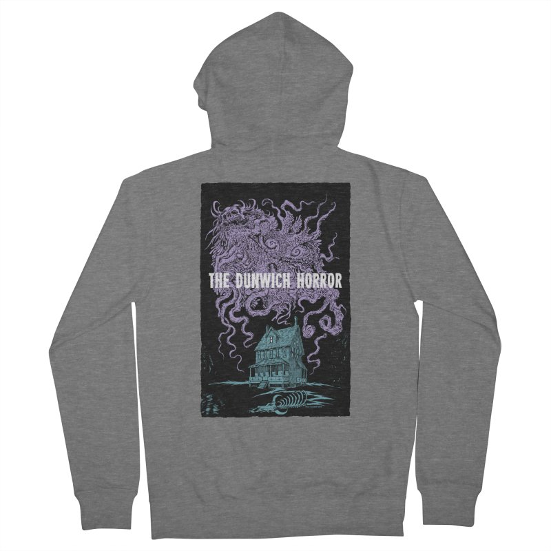 The Dunwich Horror Women's French Terry Zip-Up Hoody by Nick the Hat