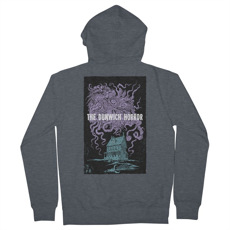The Dunwich Horror Men's French Terry Zip-Up Hoody by Nick the Hat