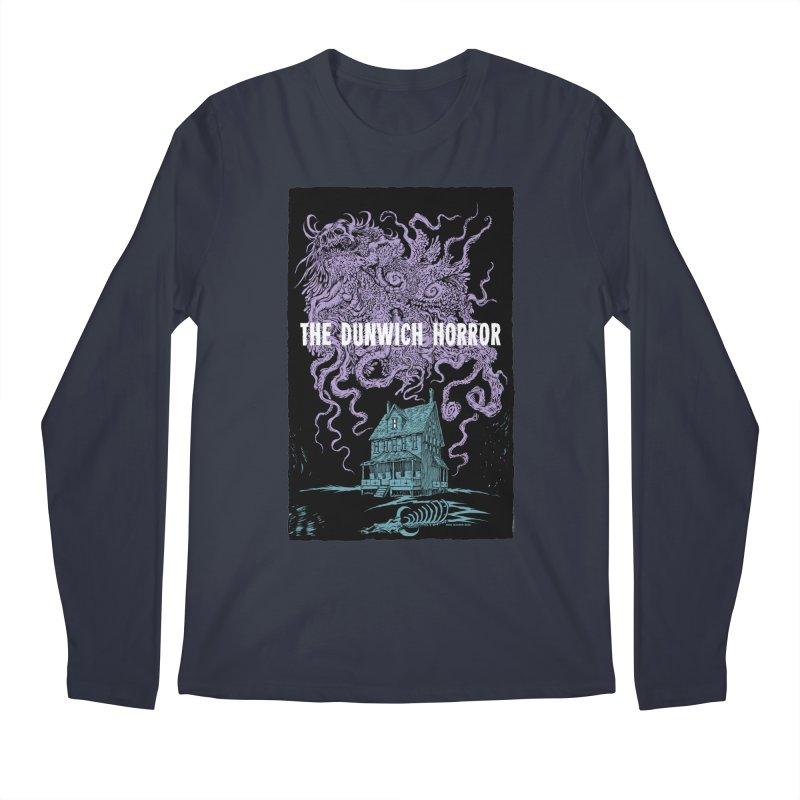The Dunwich Horror Men's Regular Longsleeve T-Shirt by Nick the Hat