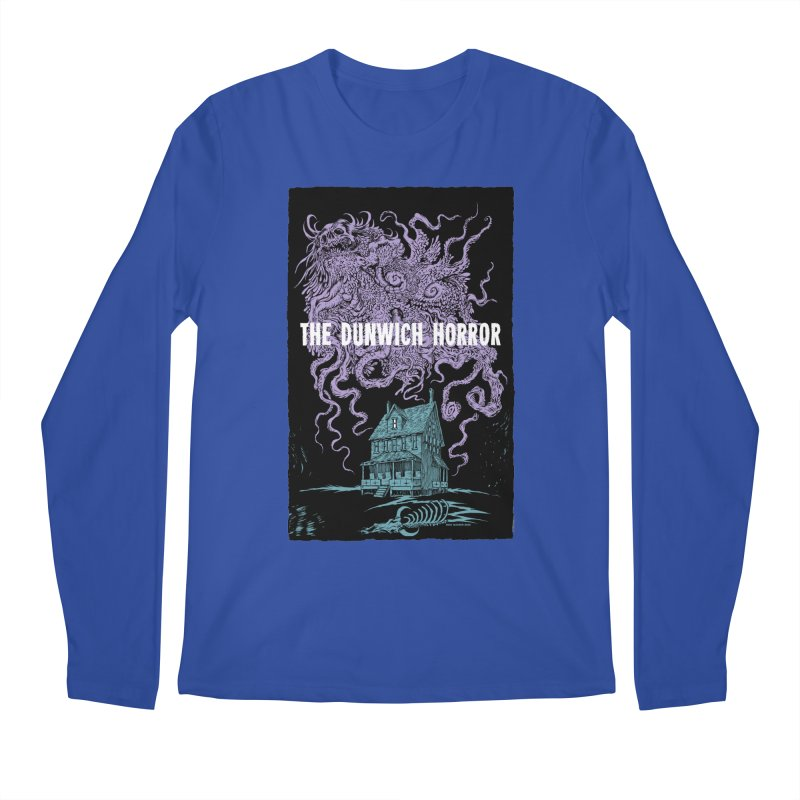 The Dunwich Horror Men's Regular Longsleeve T-Shirt by Nick the Hat