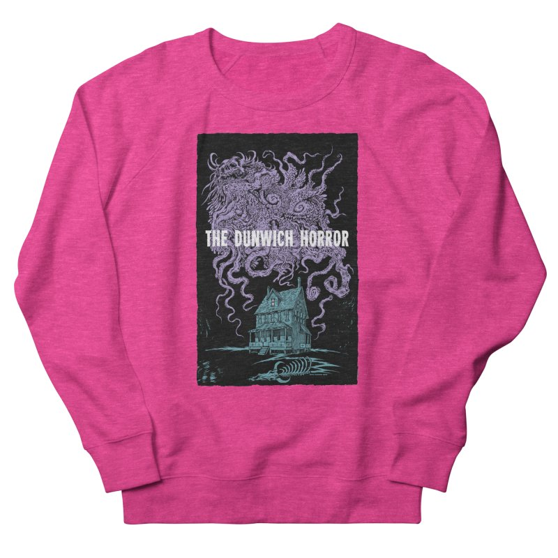 The Dunwich Horror Women's French Terry Sweatshirt by Nick the Hat