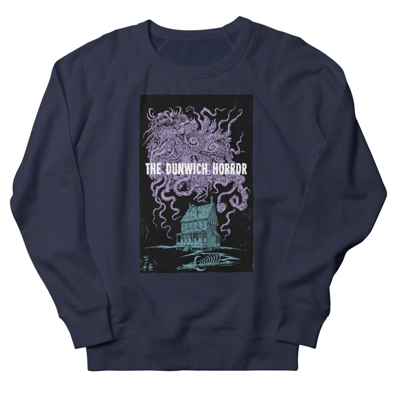 The Dunwich Horror Men's French Terry Sweatshirt by Nick the Hat