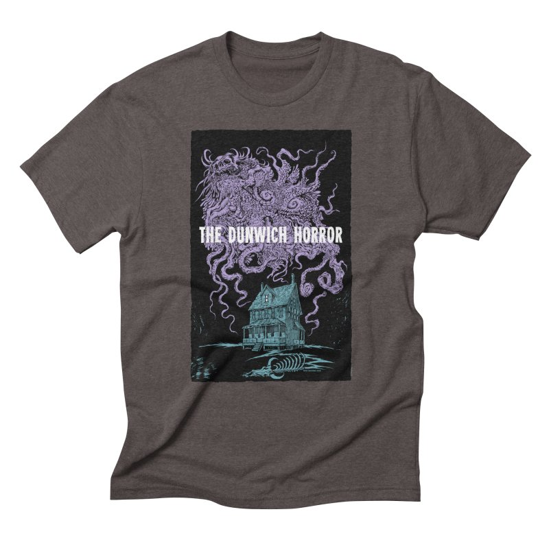 The Dunwich Horror Men's Triblend T-Shirt by Nick the Hat