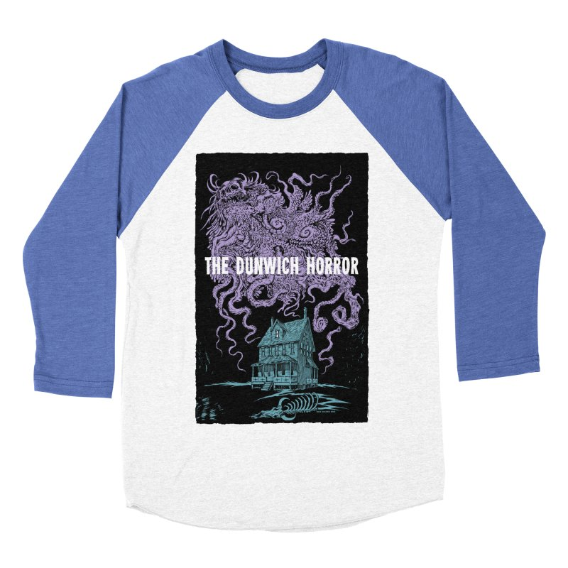 The Dunwich Horror Women's Baseball Triblend Longsleeve T-Shirt by Nick the Hat