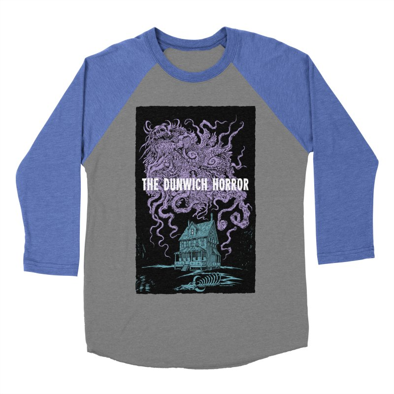 The Dunwich Horror Men's Baseball Triblend Longsleeve T-Shirt by Nick the Hat