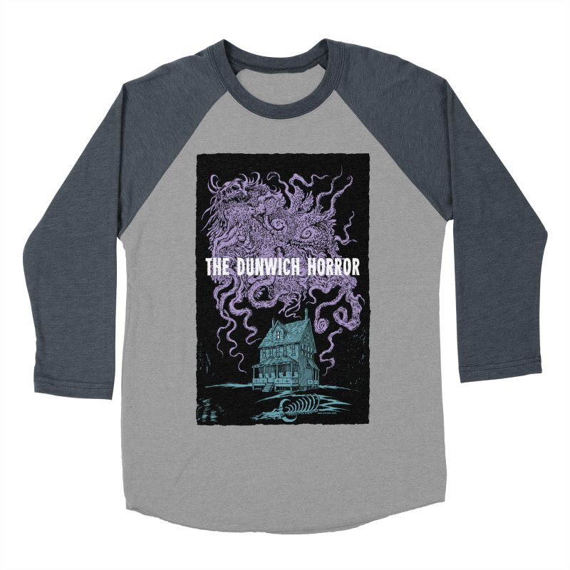 The Dunwich Horror Men's Baseball Triblend T-Shirt by Nick the Hat