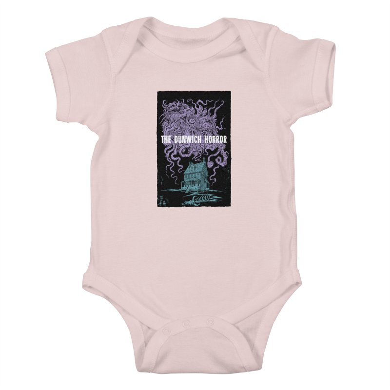 The Dunwich Horror Kids Baby Bodysuit by Nick the Hat