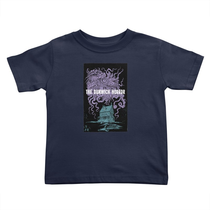 The Dunwich Horror Kids Toddler T-Shirt by Nick the Hat