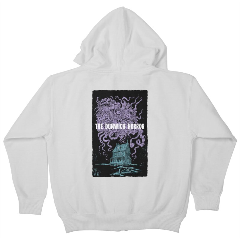 The Dunwich Horror Kids Zip-Up Hoody by Nick the Hat