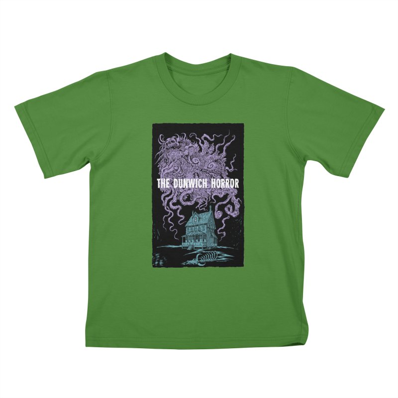 The Dunwich Horror Kids T-Shirt by Nick the Hat