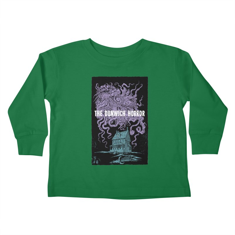 The Dunwich Horror Kids Toddler Longsleeve T-Shirt by Nick the Hat