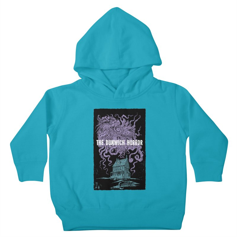 The Dunwich Horror Kids Toddler Pullover Hoody by Nick the Hat