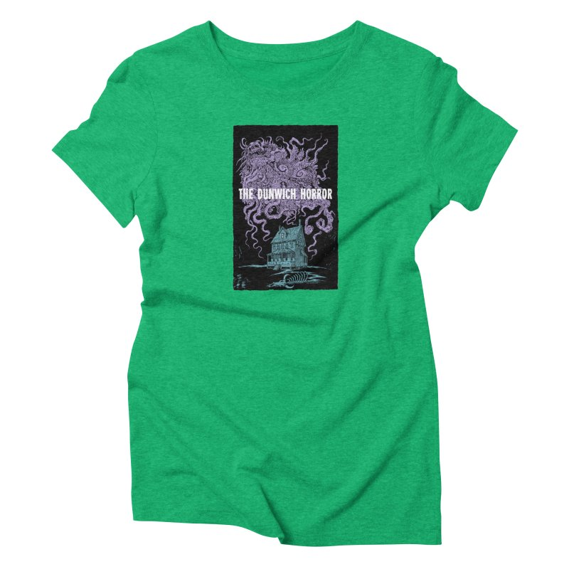 The Dunwich Horror Women's T-Shirt by Nick the Hat