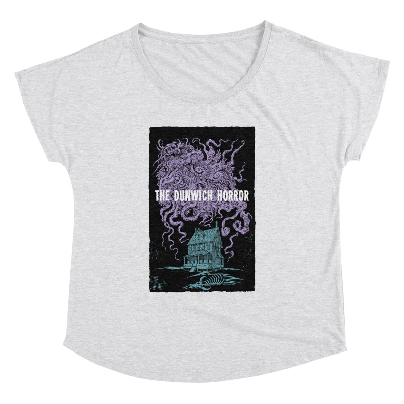 The Dunwich Horror Women's Dolman Scoop Neck by Nick the Hat