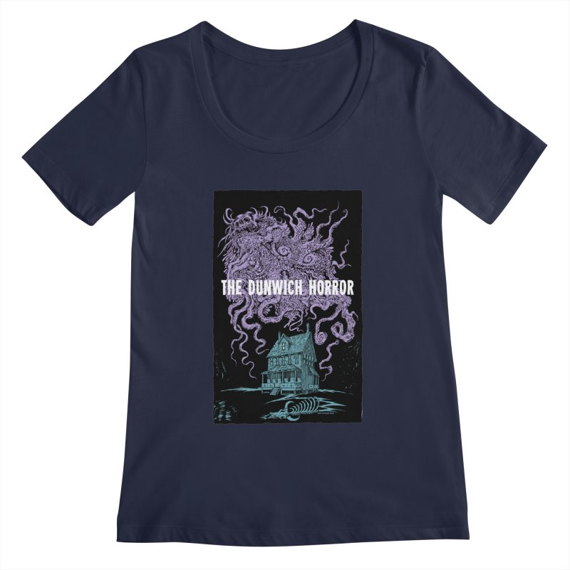 The Dunwich Horror Women's Regular Scoop Neck by Nick the Hat