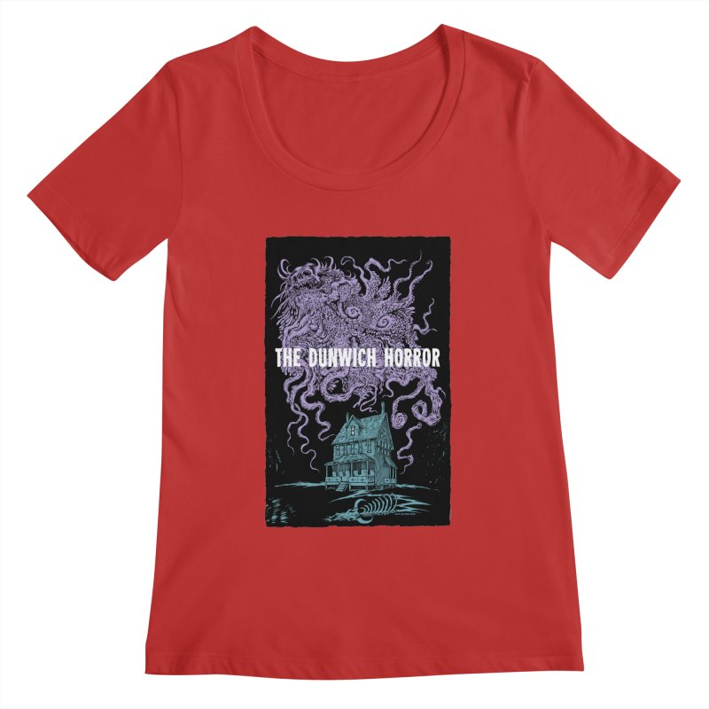 The Dunwich Horror Women's Scoopneck by Nick the Hat