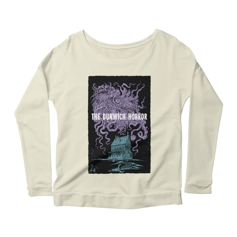 The Dunwich Horror Women's Scoop Neck Longsleeve T-Shirt by Nick the Hat