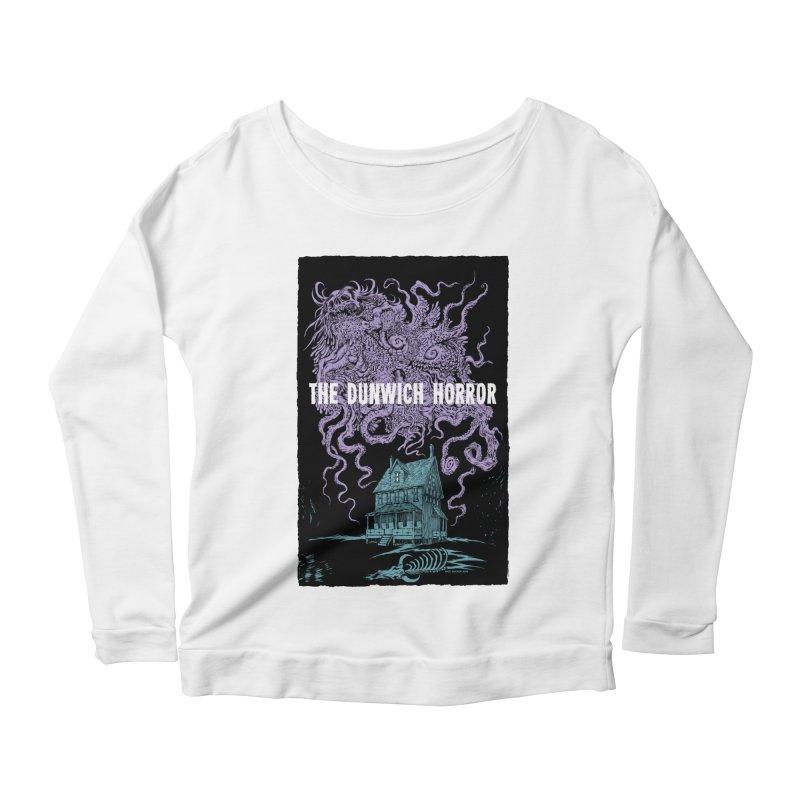The Dunwich Horror Women's Scoop Neck Longsleeve T-Shirt by Nick the Hat