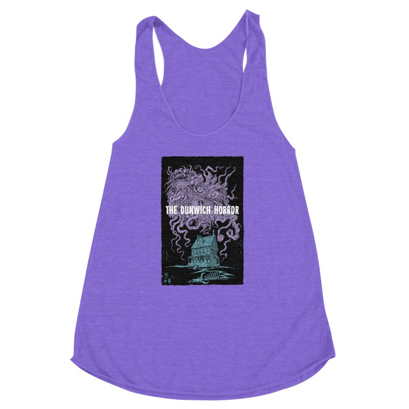 The Dunwich Horror Women's Racerback Triblend Tank by Nick the Hat