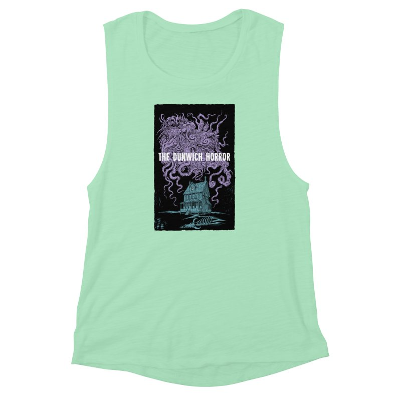 The Dunwich Horror Women's Muscle Tank by Nick the Hat