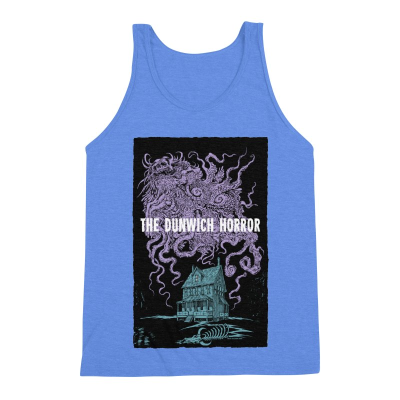 The Dunwich Horror Men's Triblend Tank by Nick the Hat