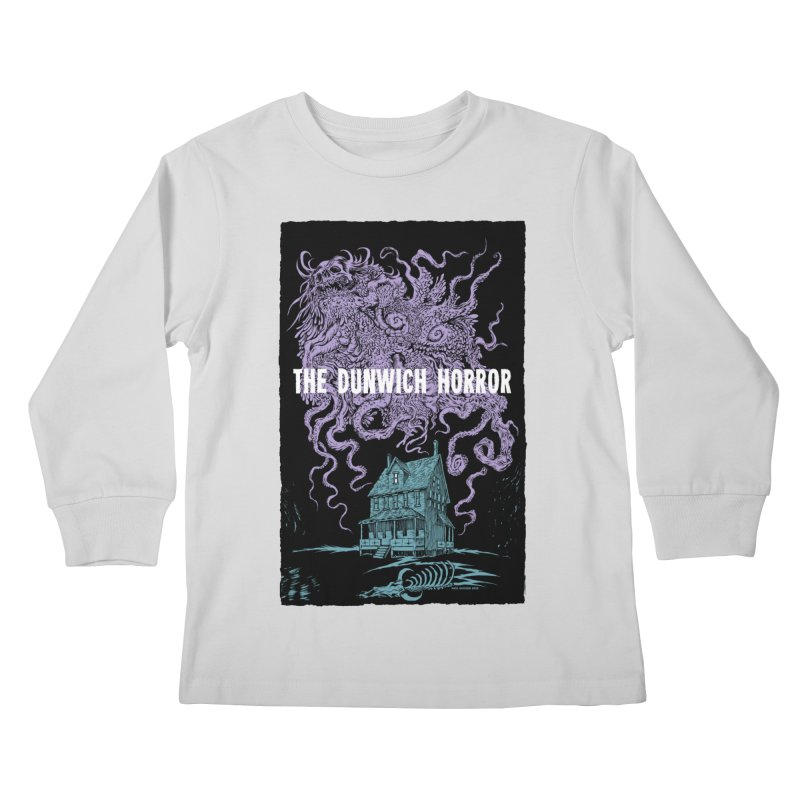 The Dunwich Horror Kids Longsleeve T-Shirt by Nick the Hat