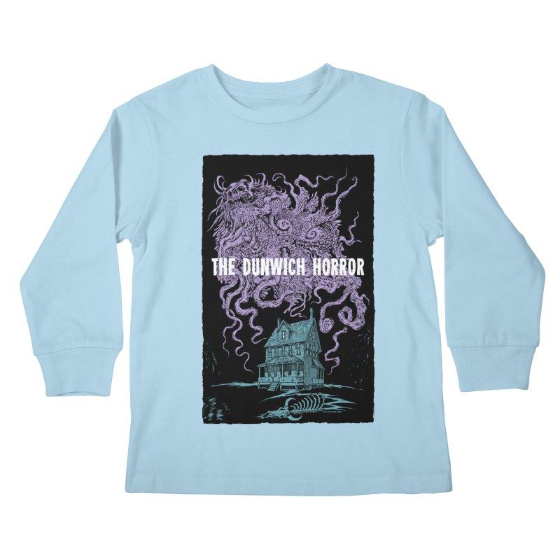 The Dunwich Horror Kids Longsleeve T-Shirt by Nick the Hat