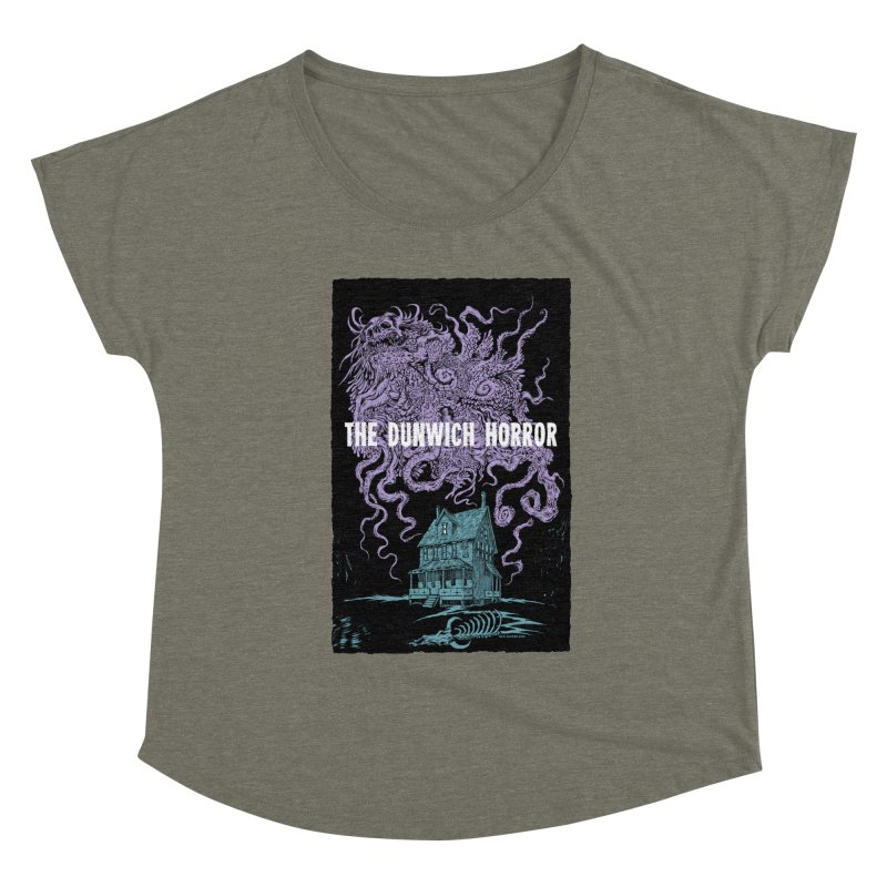 The Dunwich Horror Women's Scoop Neck by Nick the Hat