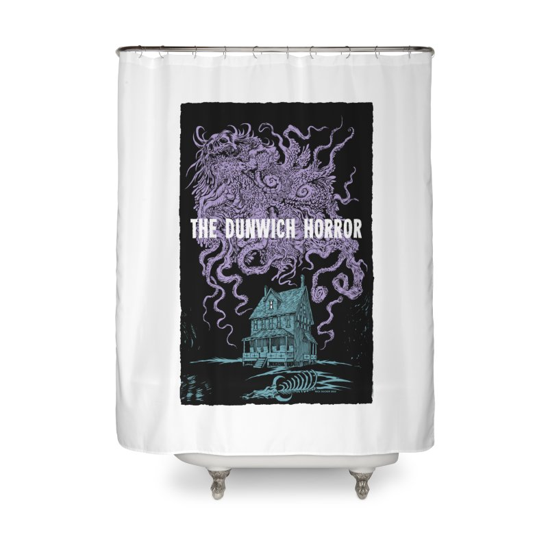 The Dunwich Horror Home Shower Curtain by Nick the Hat
