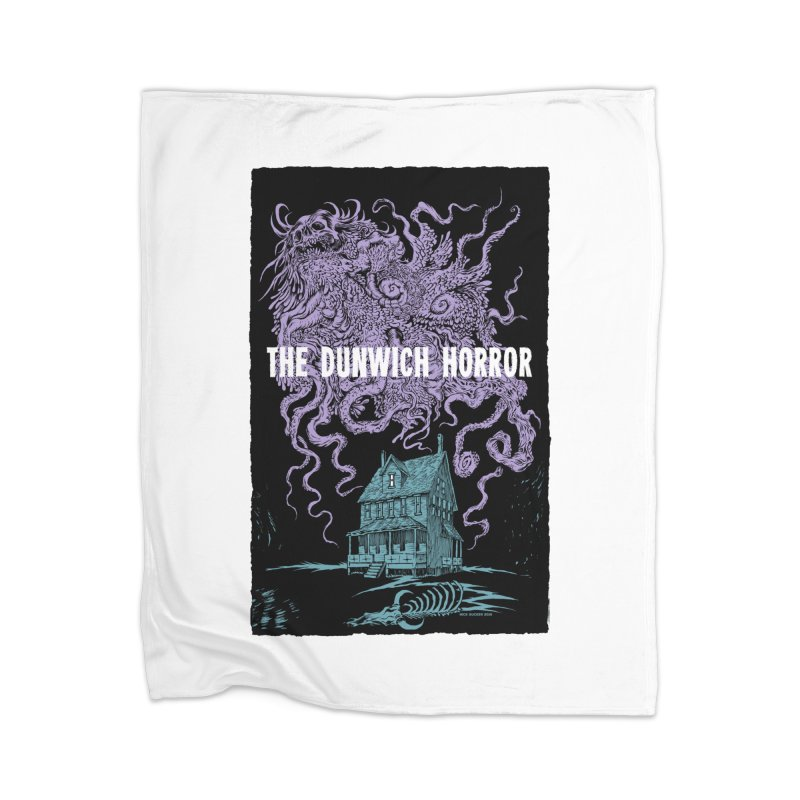 The Dunwich Horror Home Blanket by Nick the Hat