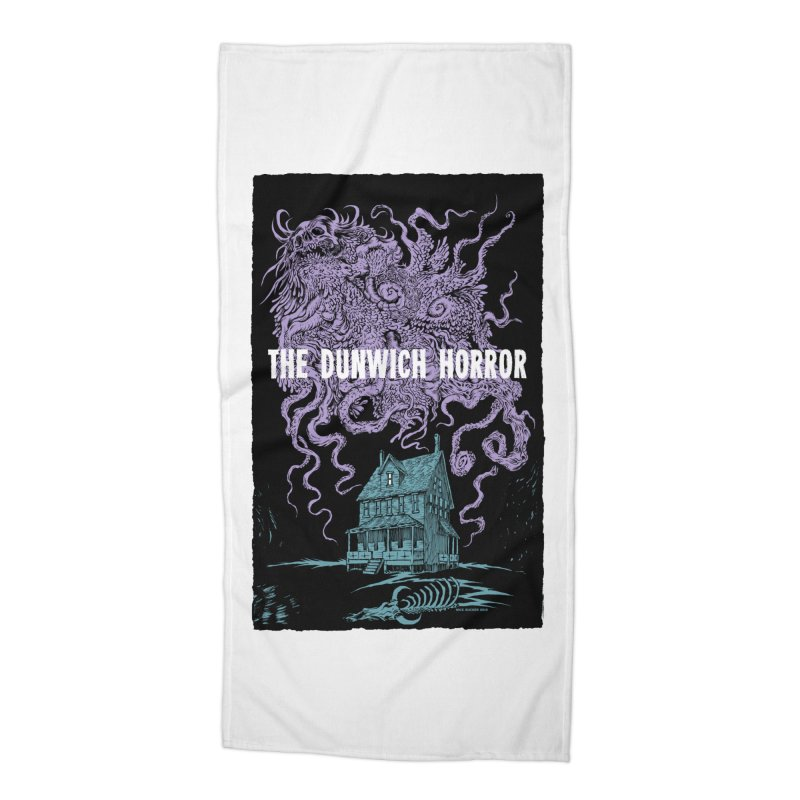 The Dunwich Horror Accessories Beach Towel by Nick the Hat