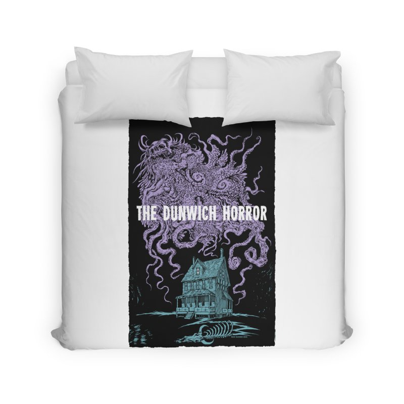 The Dunwich Horror Home Duvet by Nick the Hat
