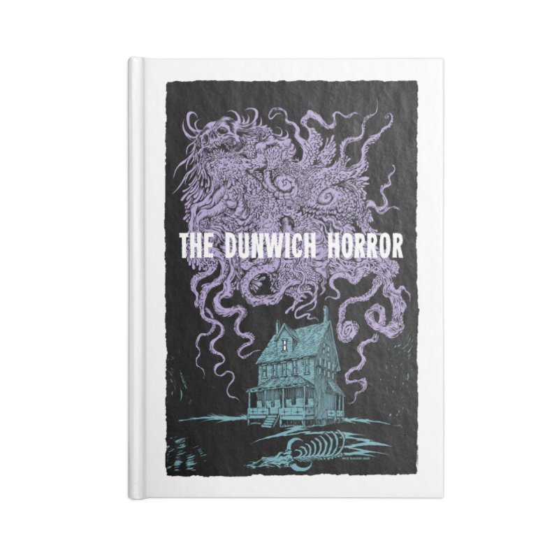 The Dunwich Horror Accessories Lined Journal Notebook by Nick the Hat