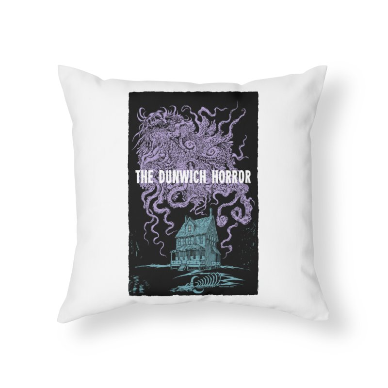 The Dunwich Horror Home Throw Pillow by Nick the Hat