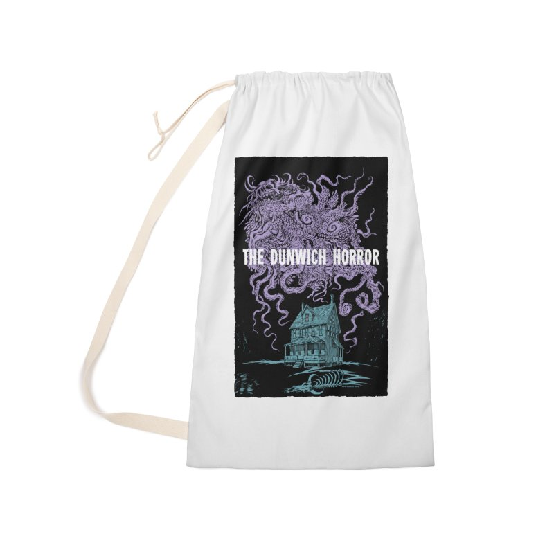 The Dunwich Horror Accessories Laundry Bag Bag by Nick the Hat