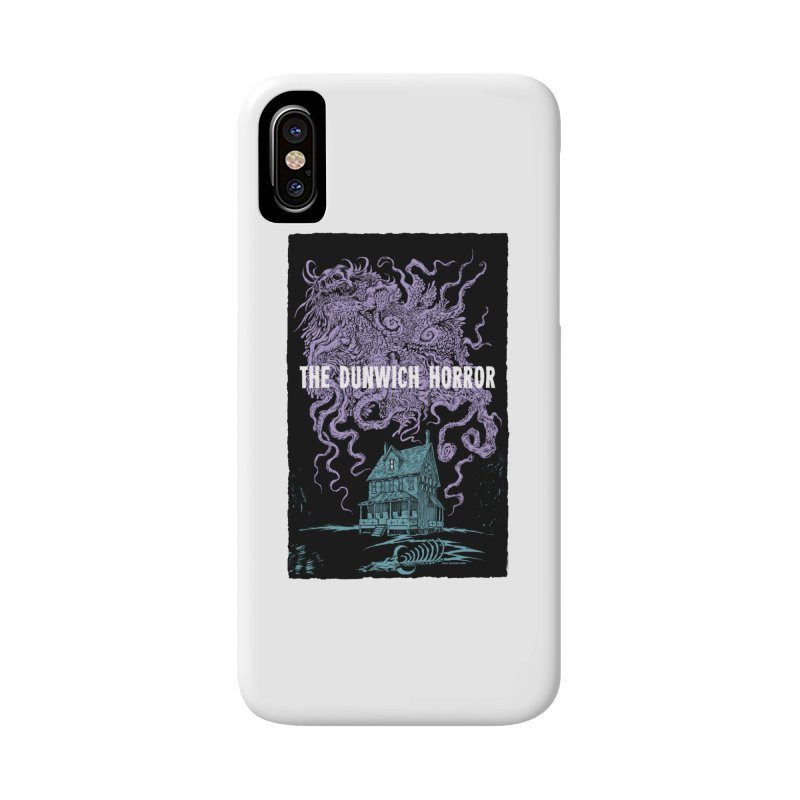 The Dunwich Horror Accessories Phone Case by Nick the Hat
