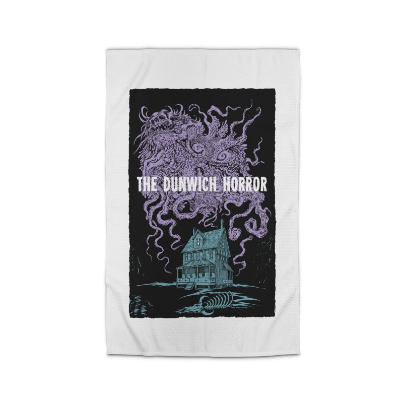 The Dunwich Horror Home Rug by Nick the Hat