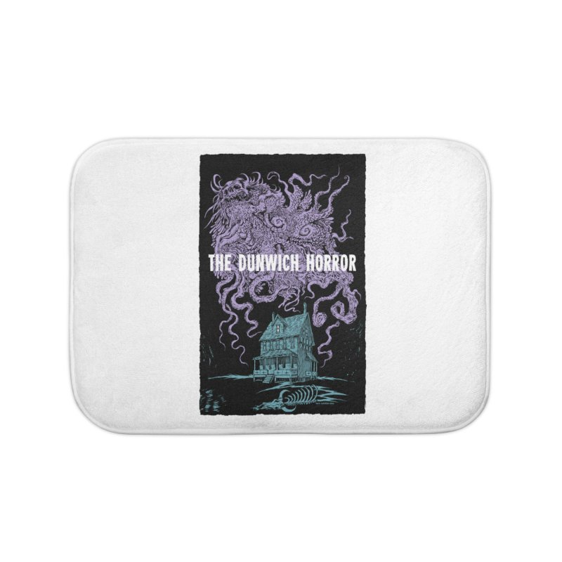 The Dunwich Horror Home Bath Mat by Nick the Hat