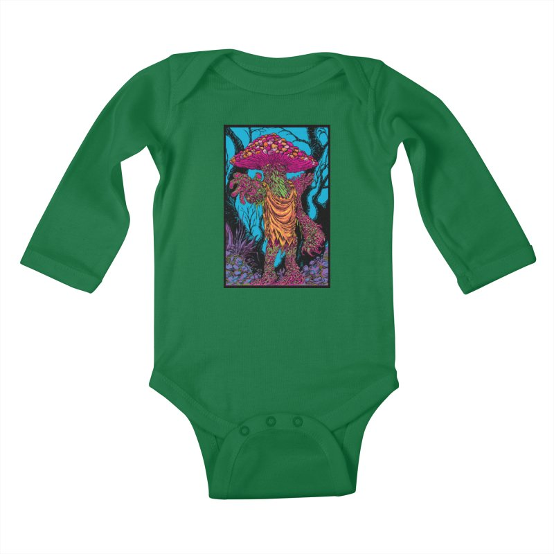 MATANGO  Kids Baby Longsleeve Bodysuit by Nick the Hat