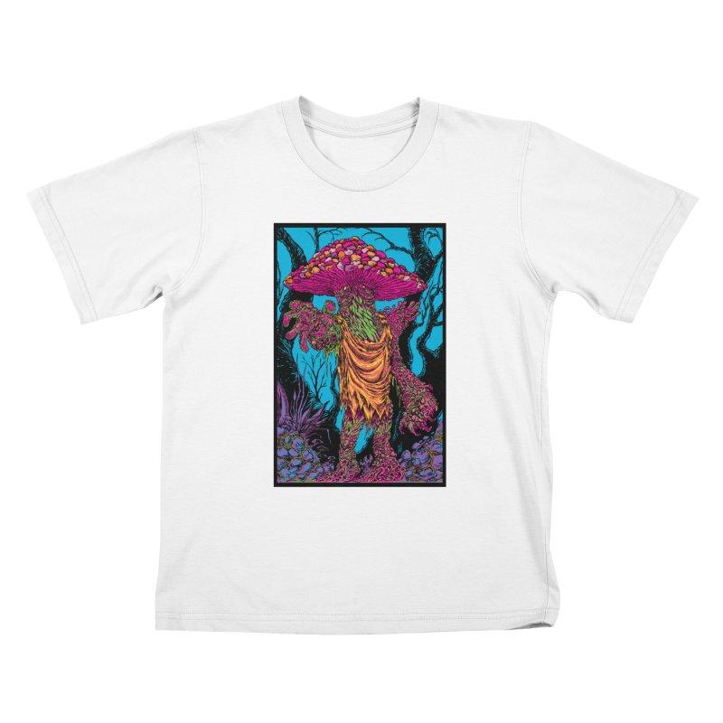 MATANGO  Kids T-Shirt by Nick the Hat